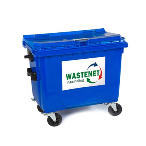 660 liter rolcontainer archiefvernietiging