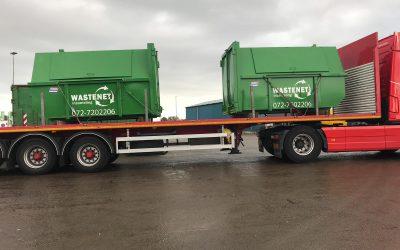 Eerste containers in eigen beheer voor Wastenet inzameling