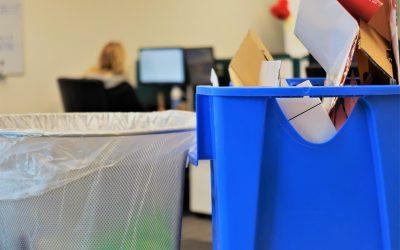 Kantoorafval scheiden. 5 Tips voor afvalscheiding op de werkvloer