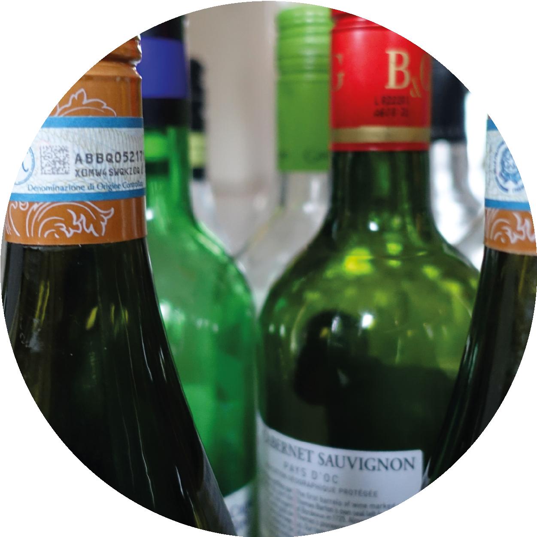inzameling flessenglas