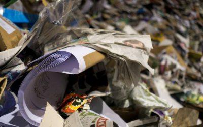 De voordelen van papierafval scheiden