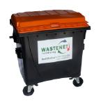 PMD rolcontainer 1100 liter