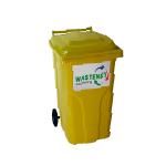 Flessenglas 240 liter rolcontainer