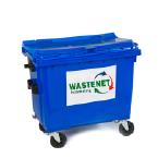 container 660 papier-karton inzameling
